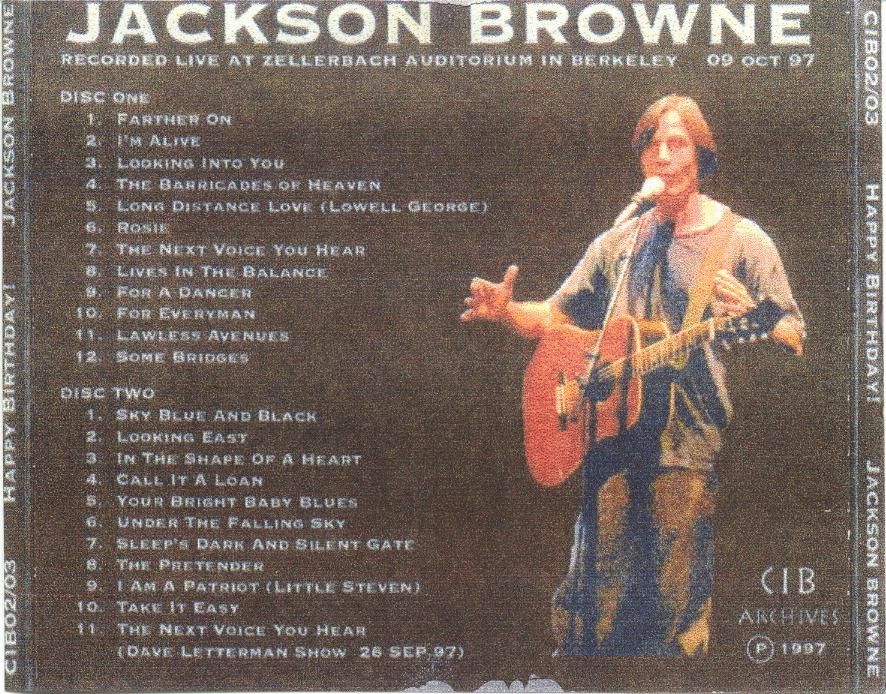 index of   jackson browne  happy birthday